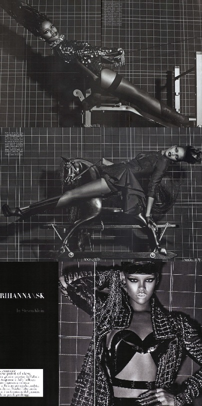 Rihanna by Steven Klein for Vogue Italy 2009