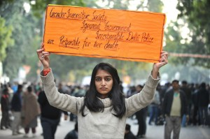 Indian Protestor